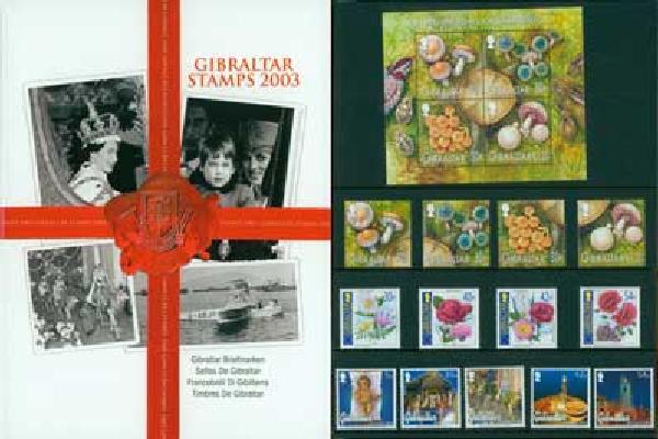 2003 Gibraltar Year Set,57vM