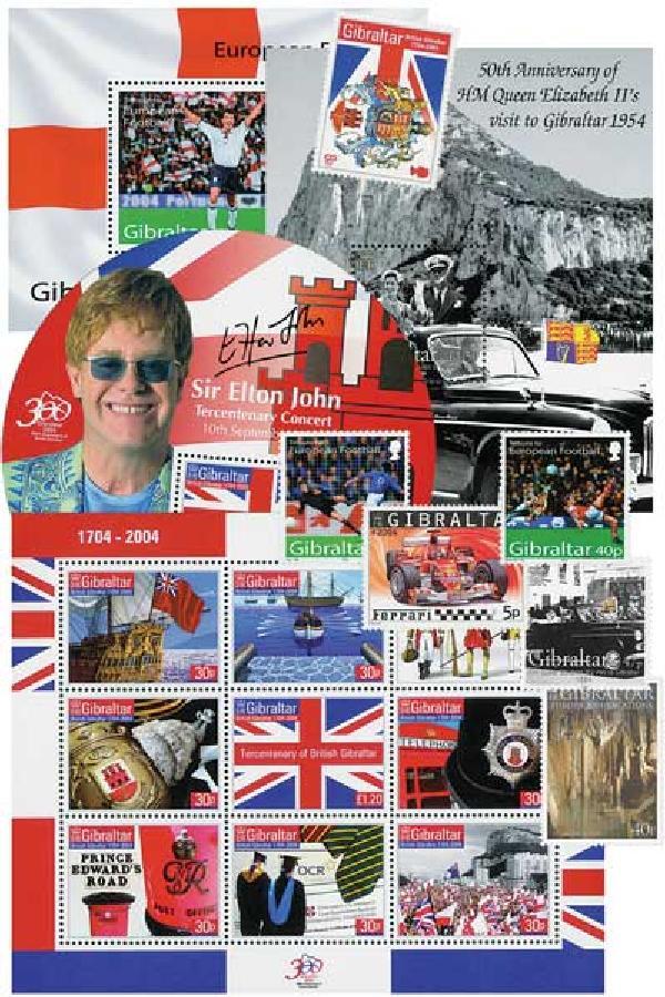 2004 Gibraltar Year Set,55vM