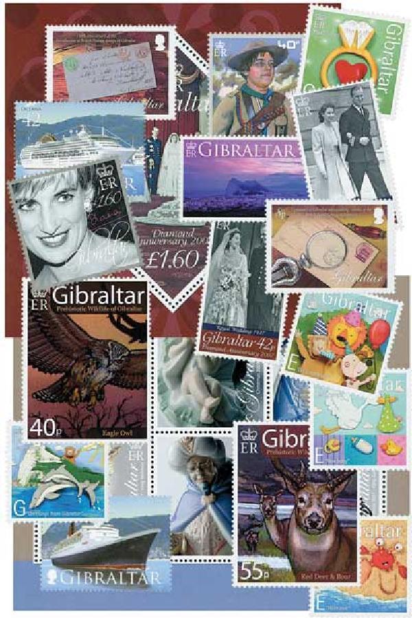 2007 Gibraltar Year Set,68vM
