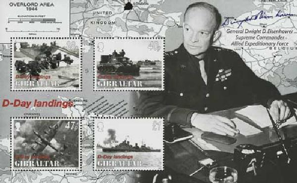2004 Gibraltar WWII D-Day Landings