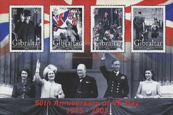 2005 Gibraltar WWII 60th Anniversary