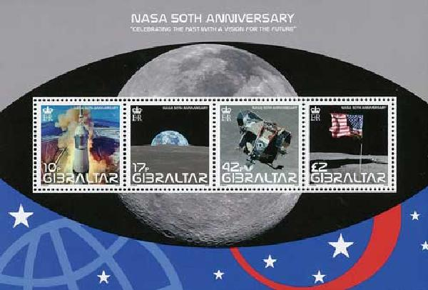 2008 Gibraltar NASA 50th Anniversary