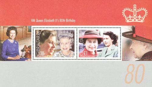 2006 Queen Elizabeths 80th Birthday s/s