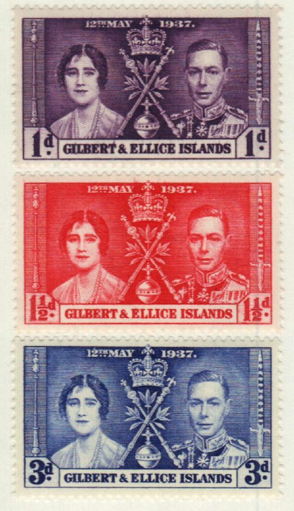 1937 Gilbert & Ellice Islands