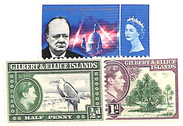 1939-66 Gilbert & Ellice Islands