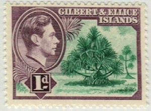 1939 Gilbert & Ellice Islands