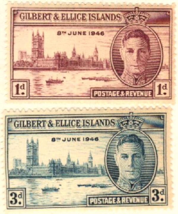 1946 Gilbert & Ellice Islands