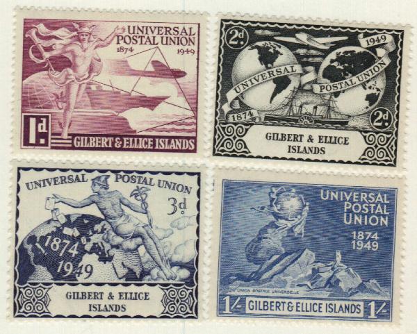 1949 Gilbert & Ellice Islands