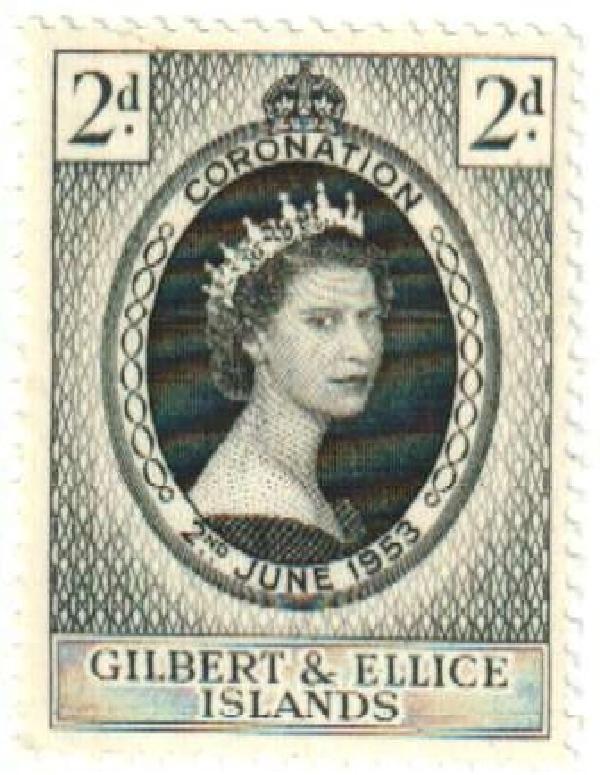 1953 Gilbert & Ellice Islands