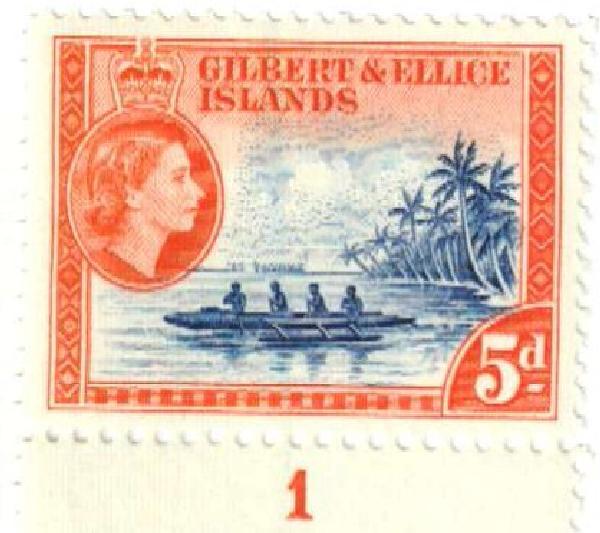 1956 Gilbert & Ellice Islands