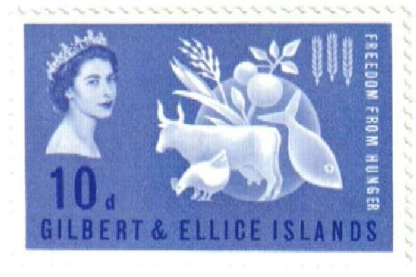 1963 Gilbert & Ellice Islands