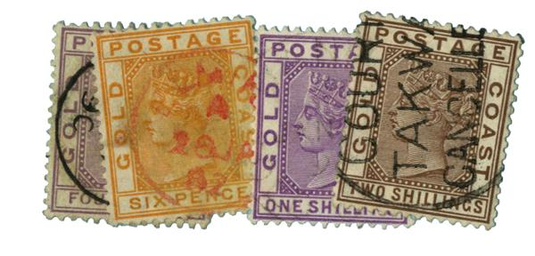 1884-89 Gold Coast