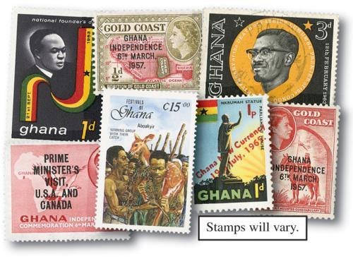 Ghana & Gold Coast, 100v