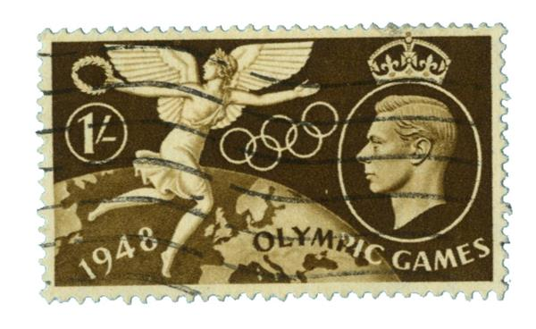1948 Great Britain Olympic Games stamp