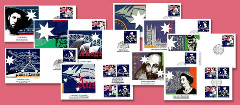 1988 GrBritain/Aust Joint Issue FDC Set