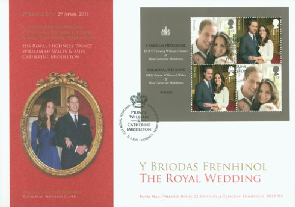 2011 Great Britain Royal Wedding Cover