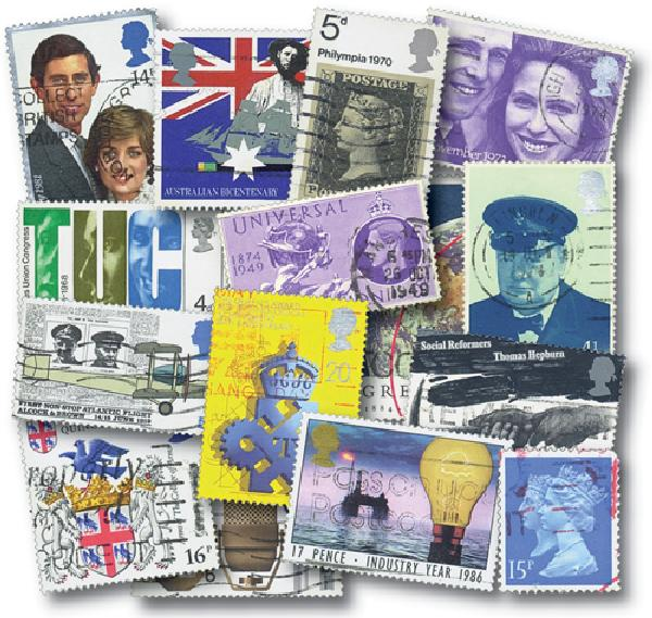 Great Britain Commemoratives, 200v