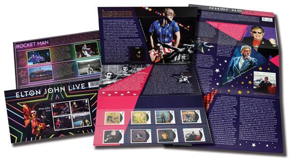 2019 Elton John Presentation Pack