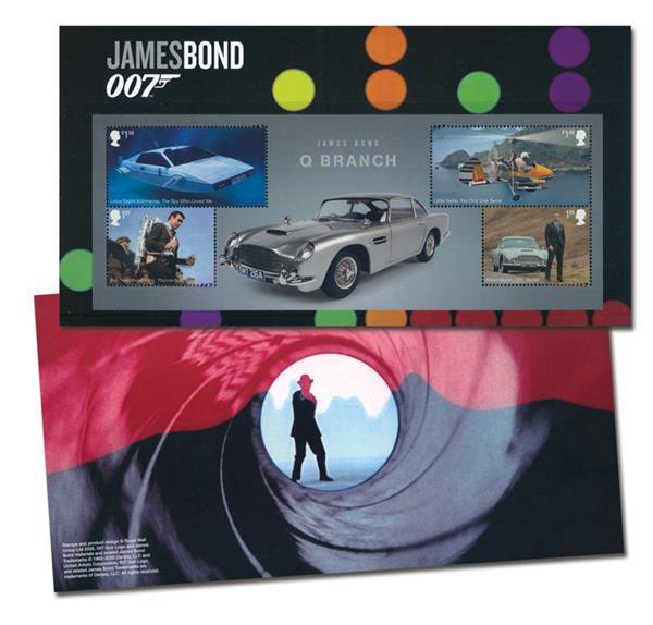 2020 James BondQ Branch Sheet of 4