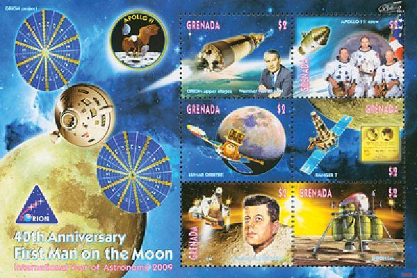 2009 Grenada - Moon Landing 40th Anniversary