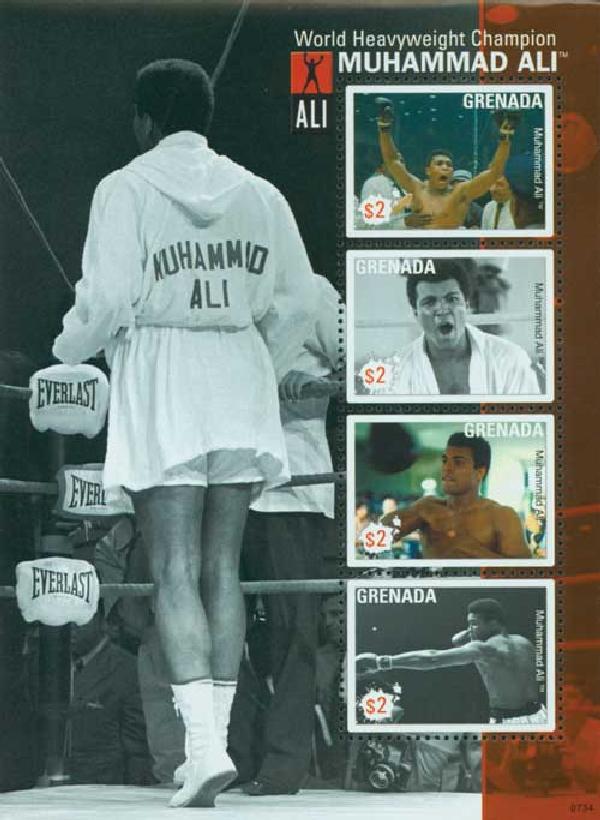 Muhammad Ali World Heavyweight Champ s/s