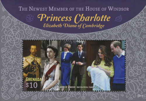 2015 $10 The House of Windsor