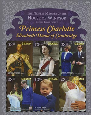 2015 $3.15 The House of Windsor