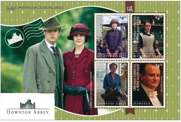 2014 Downton Abbey Stamps