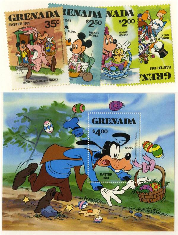 Grenada 1981 Easter