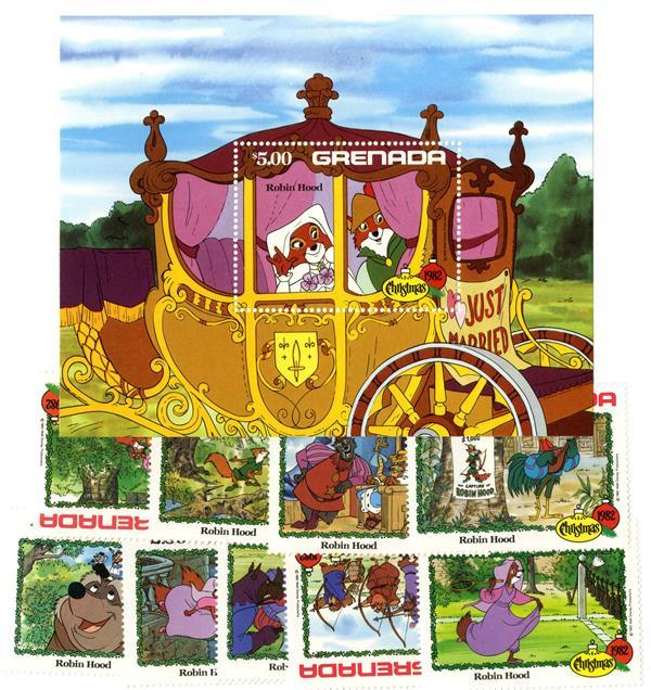 Grenada 1982 Christmas: 'Robin Hood'
