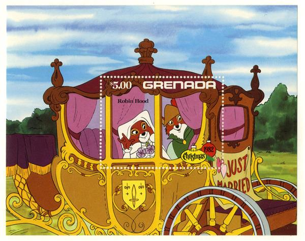 Grenada 1982 Just Married, Mint S/S