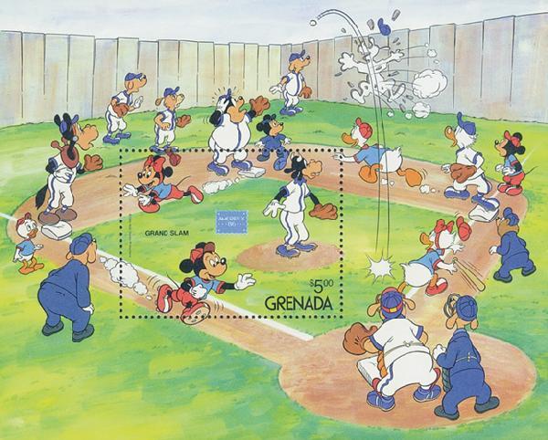 Grenada 1986 Grand Slam, Mint S/S