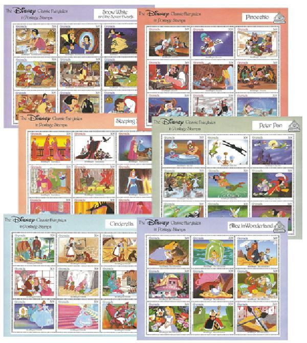 Grenada 1987 Disney Fairy Tales