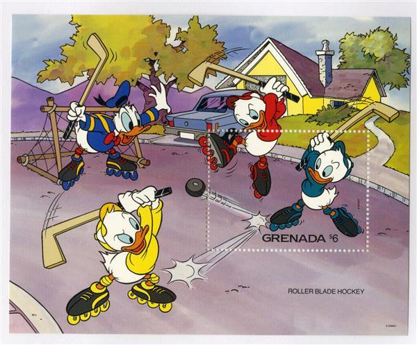 Grenada 1992 Rollerblade Hockey, S/S