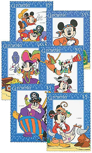 Grenada 1995 High Sea Adventure 6 Stamps