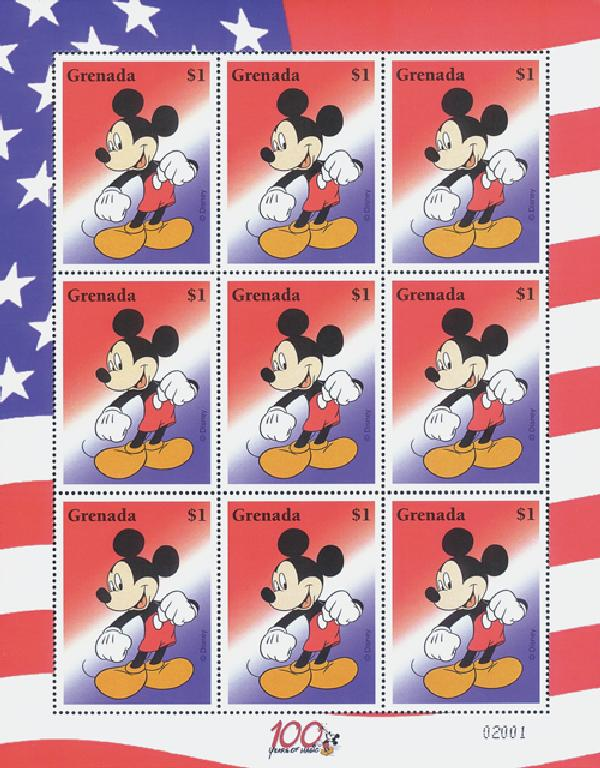 Grenada Mickeys Image, 100 yrs of Magic