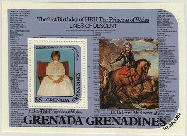 1982 Grenada Grenadines