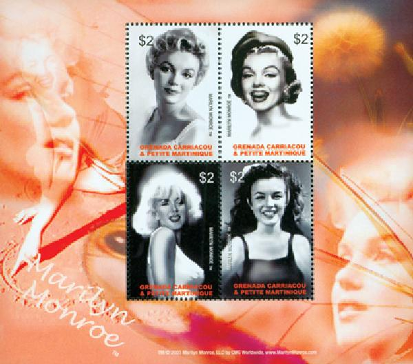 2004 Grenadines #2531 Marilyn Monroe