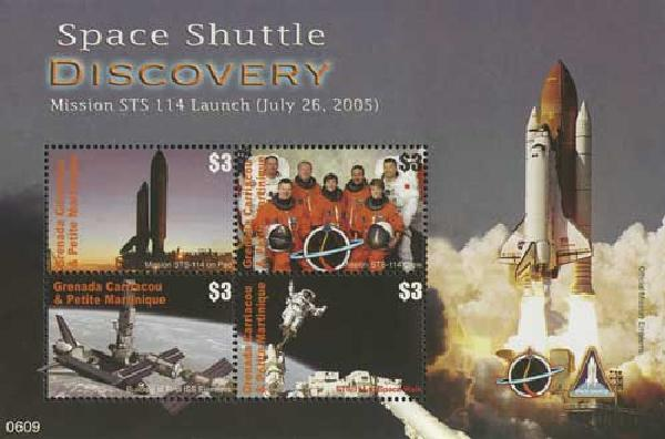 2006 Grenadines Space Shuttle Discovery