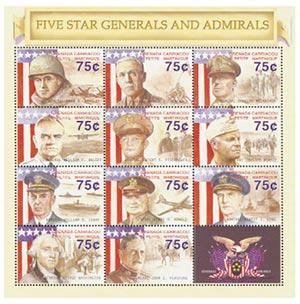 Five Star Generals & Admirals 11v