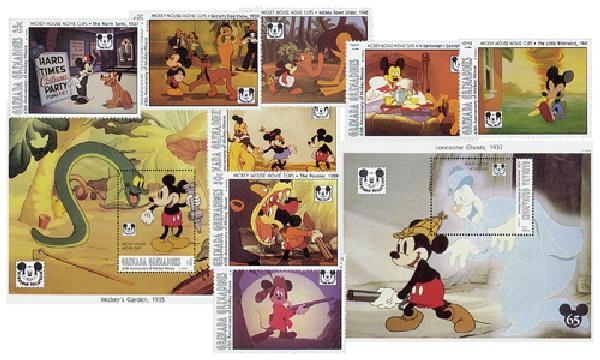 Grenadines 1993 Mickey Mouse Movie Clips