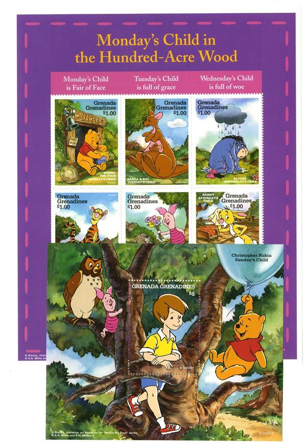 Winnie-the Pooh's Sun. & Mon. Child S/S