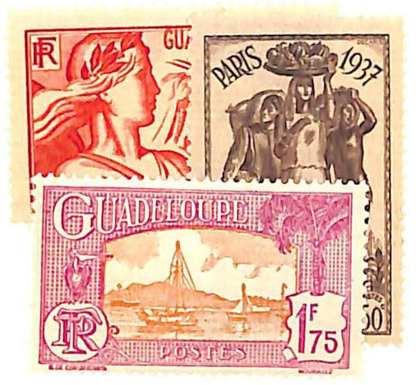 1933-37 Guadeloupe