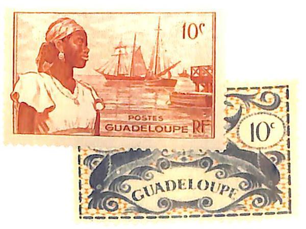 1945-47 Guadeloupe