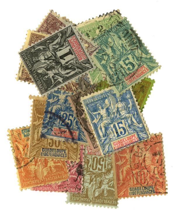 1892-1901 Guadeloupe
