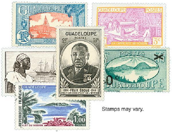 Guadeloupe, 25v