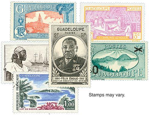 Guadeloupe, 50v