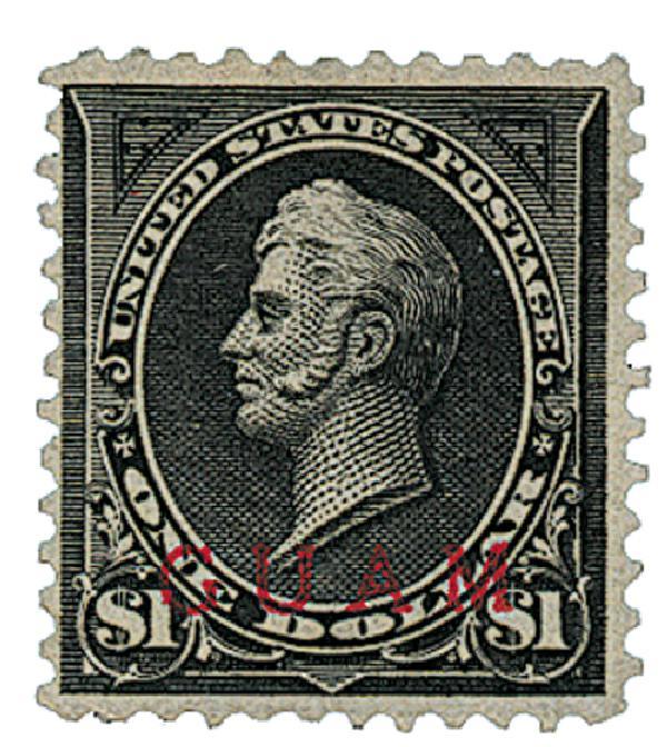 1899 $1.00 black (type I)