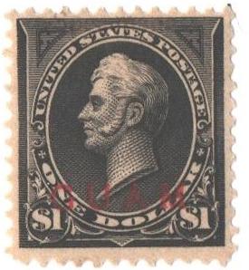 1899 $1 black, type I