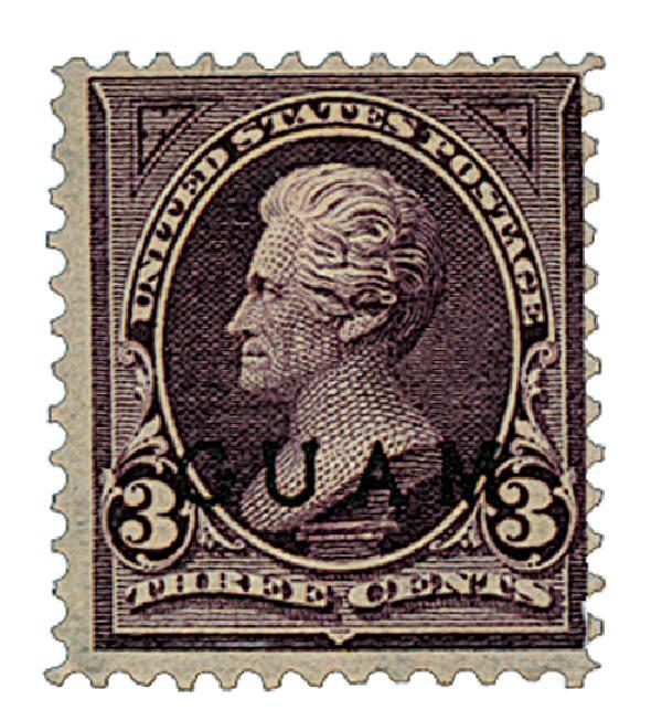 1899 3c Purple